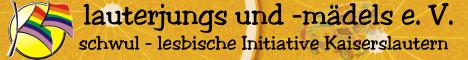 Eine Schwul-Lesbische-Bisexuelle Initiative in Kaiserslautern. In diesem Verein bin ich ehrenamtlich Tätig.